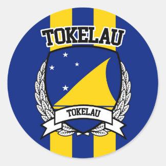 Tokelau Classic Round Sticker