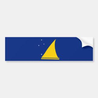 Tokelau Flag Bumper Sticker