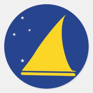 Tokelau Flag Classic Round Sticker