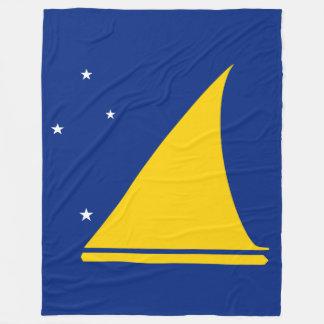 Tokelau Flag Fleece Blanket