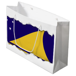 tokelau Flag Large Gift Bag