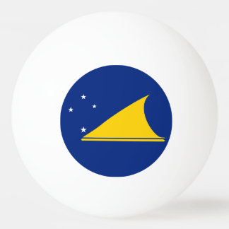 Tokelau Flag Ping-Pong Ball
