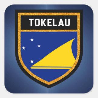 Tokelau Flag Square Sticker
