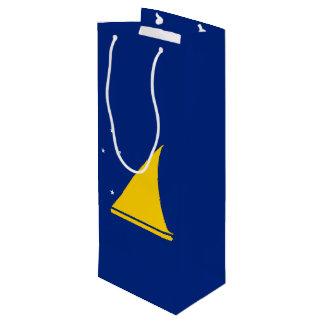 Tokelau Flag Wine Gift Bag