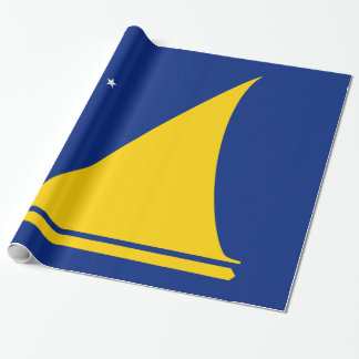 Tokelau Flag Wrapping Paper