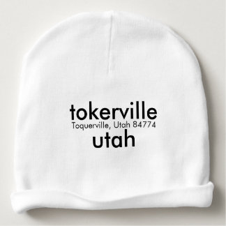 TOKERVILLE  UTAH BABY BEANIE