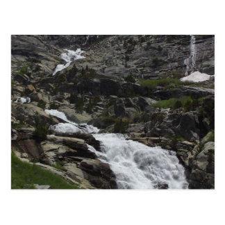 Tokopah Waterfalls Cliffs Postcard