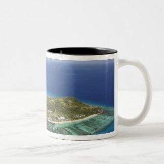 Tokoriki Island, Mamanuca Islands, Fiji Two-Tone Coffee Mug