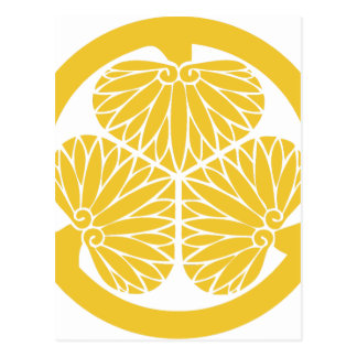 Tokugawa Clan Mon Crest Postcard