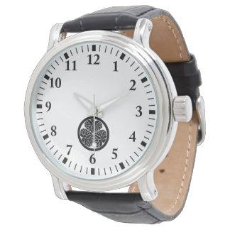 Tokugawa hollyhock 10(9th-11th)13 watch