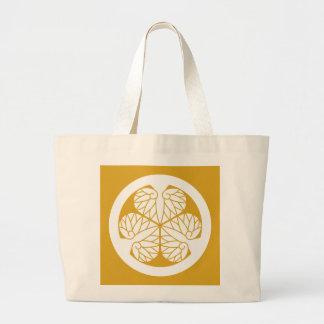 Tokugawa hollyhock(13) large tote bag