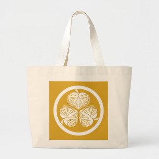 Tokugawa hollyhock 2(first,2nd,3rd)33 large tote bag