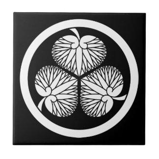 Tokugawa hollyhock 2(first,2nd,3rd)33 tile