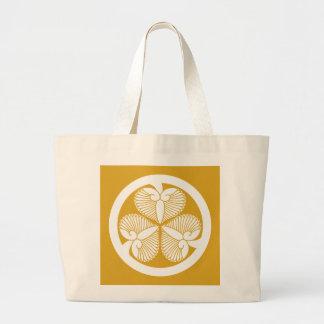 Tokugawa hollyhock 7(6th Ienobu)35 Large Tote Bag