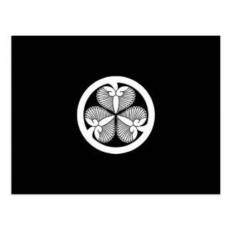 Tokugawa hollyhock 7(6th Ienobu)35 Postcard