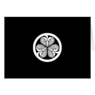 Tokugawa hollyhock 9(8th Yoshimune)23 Card