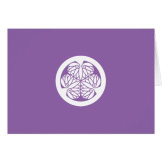 Tokugawa mallow (13 蕊) Edo Card