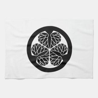 Tokugawa mallow (13 蕊) kitchen towel