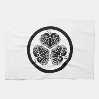 Tokugawa mallow (Ieyasu 秀 loyal house light) 1 Hand Towels