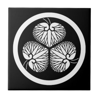 Tokugawa mallow (Ieyasu 秀 loyal house light) 1 Tile
