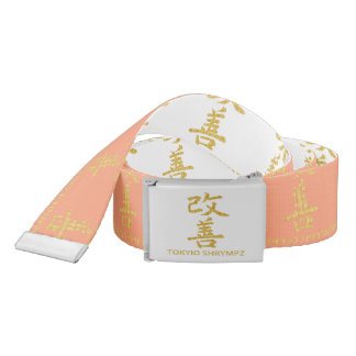 Tokyio Shrympz Logo Print Belt