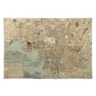 Tokyo 1854 placemat