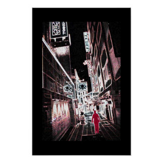 Tokyo alley poster