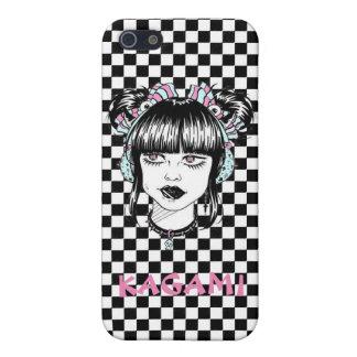Tokyo fashion girl Checkerwork manga iPhone 5/5S Cases