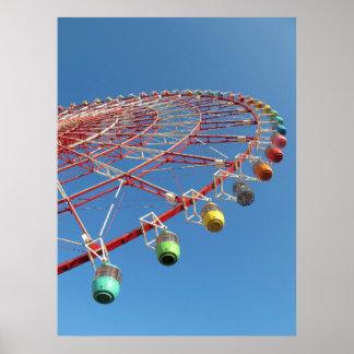 Tokyo Ferris Wheel Poster