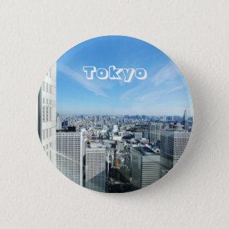 Tokyo, Japan 2 Inch Round Button