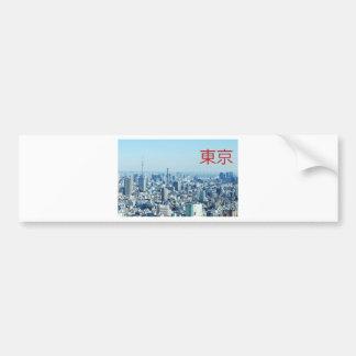 Tokyo, Japan Bumper Sticker