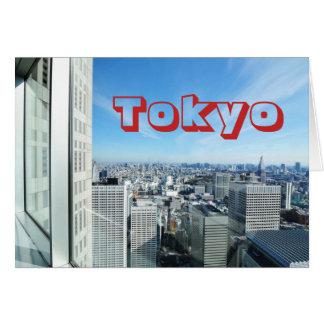 Tokyo, Japan Card