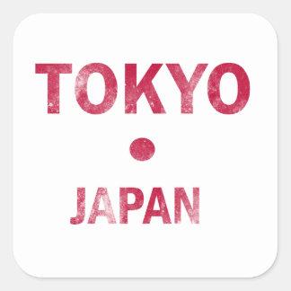 Tokyo Japan Designs Square Sticker