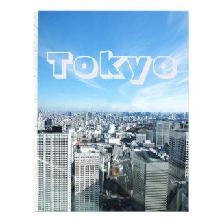 Tokyo, Japan Letterhead