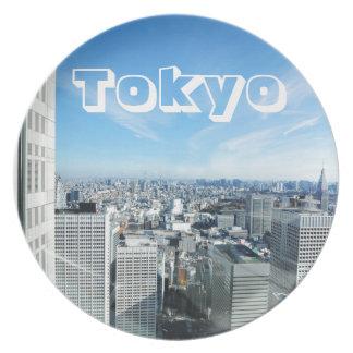 Tokyo, Japan Plate