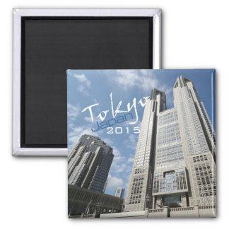 Tokyo Japan Travel Fridge Magnet Change Year