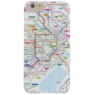 Tokyo Map Barely There iPhone 6 Plus Case