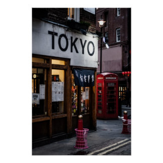 Tokyo meet London Poster