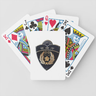 Tokyo Police Bicycle Playing Cards