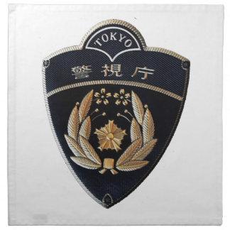 Tokyo Police Napkin