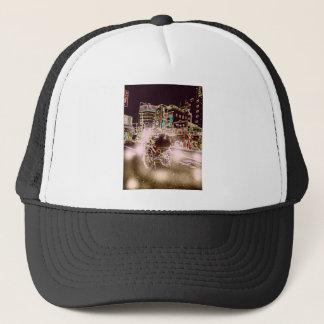Tokyo Rickshw Night Trucker Hat