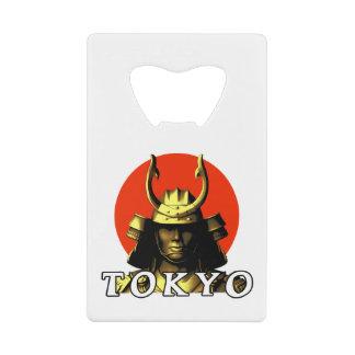 Tokyo Samurai Japan Bottle Opener Credit Card Bottle Opener