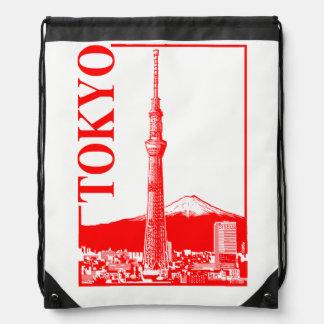 Tokyo - SkyTree Drawstring Bag