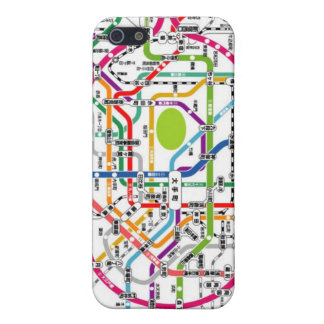 Tokyo subway iPhone 5 cover