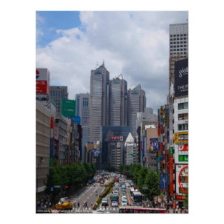 Tokyo Sunny Day (Large) Poster