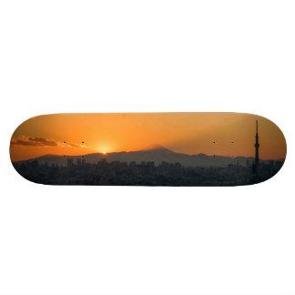 Tokyo Sunset Skateboard