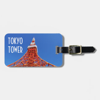 Tokyo Tower Luggage Tag