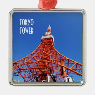 Tokyo Tower Metal Ornament