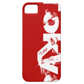Tokyo - Young Style Urban Worn Red And White Case For The iPhone 5