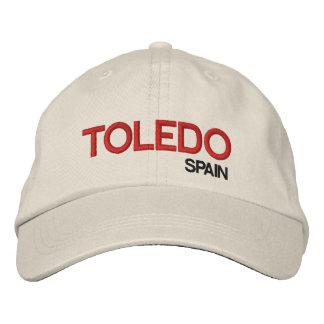 Toldeo Spain Personalized Adjustable Hat Embroidered Hats